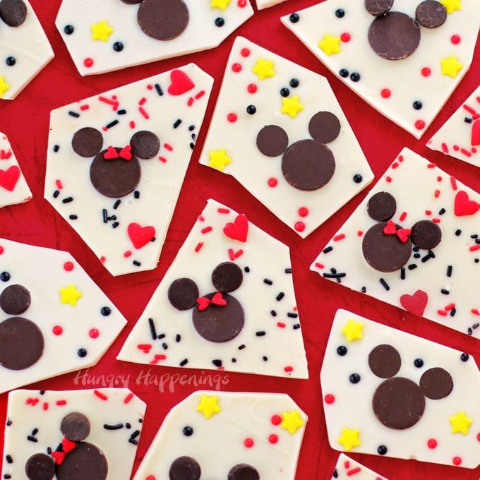 Mickey and Minnie Bark