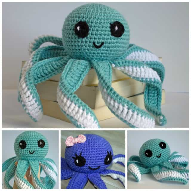Amigurumi Octopus Baby Toy Pattern