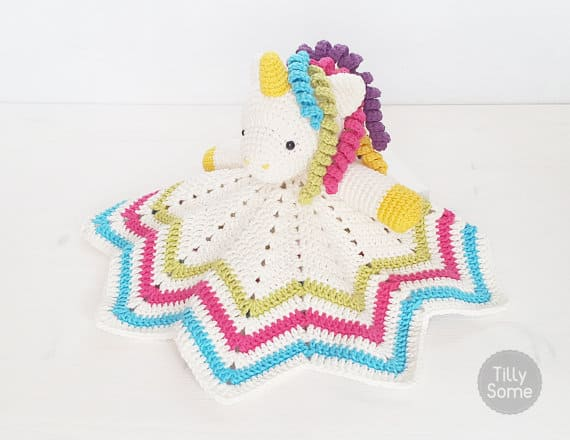 Sweet Unicorn Lovey Pattern