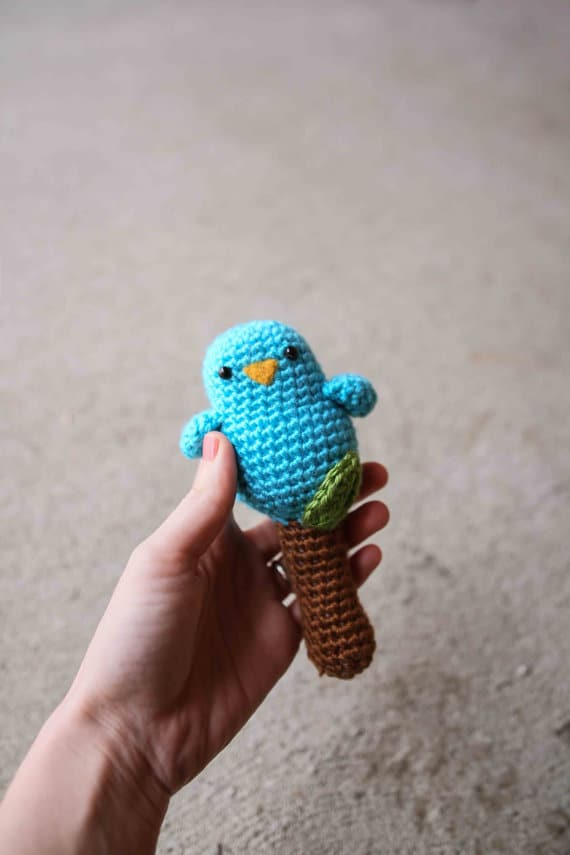 Baby Birdy Rattle Toy