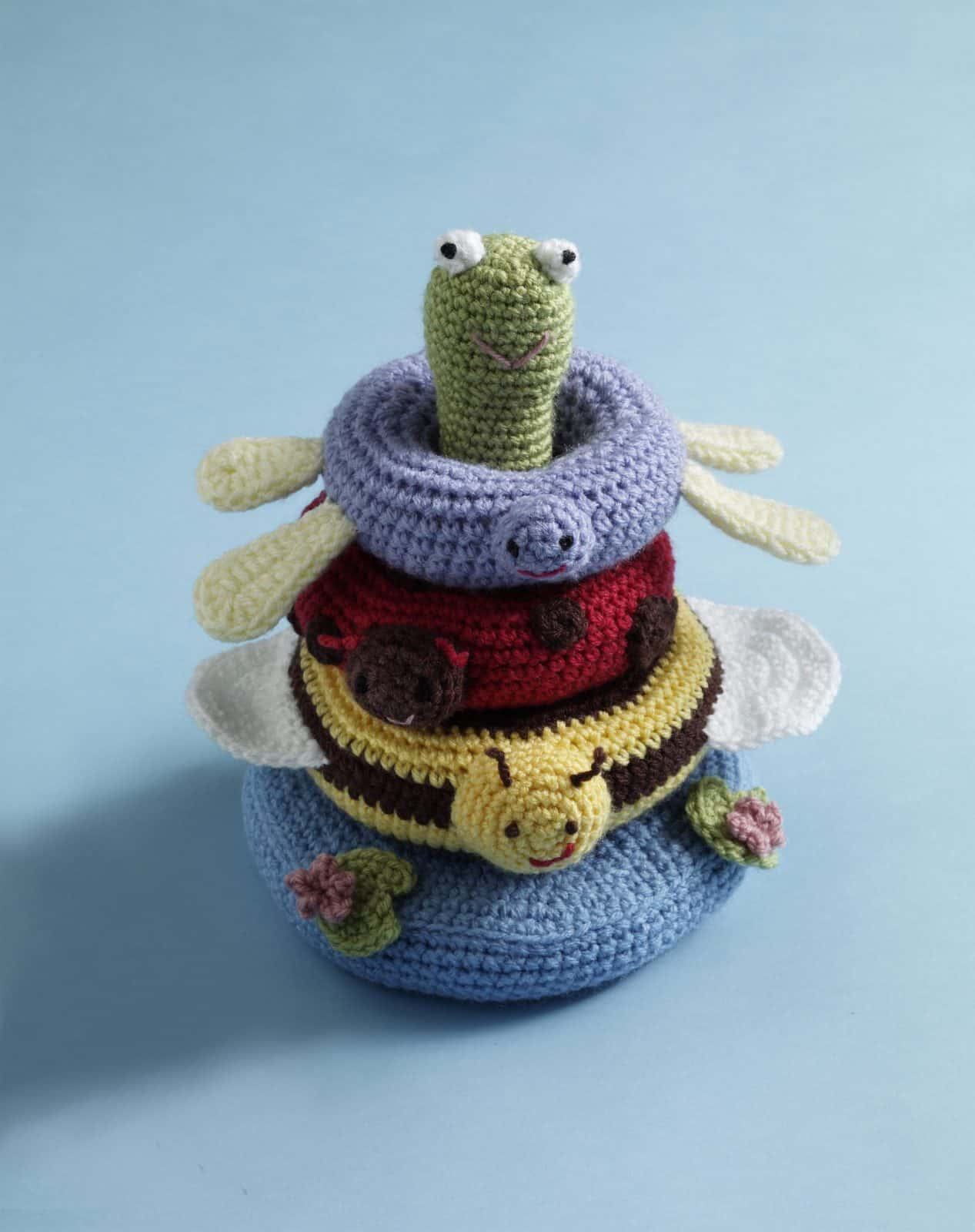 Pond Friends Stacking Toy Pattern