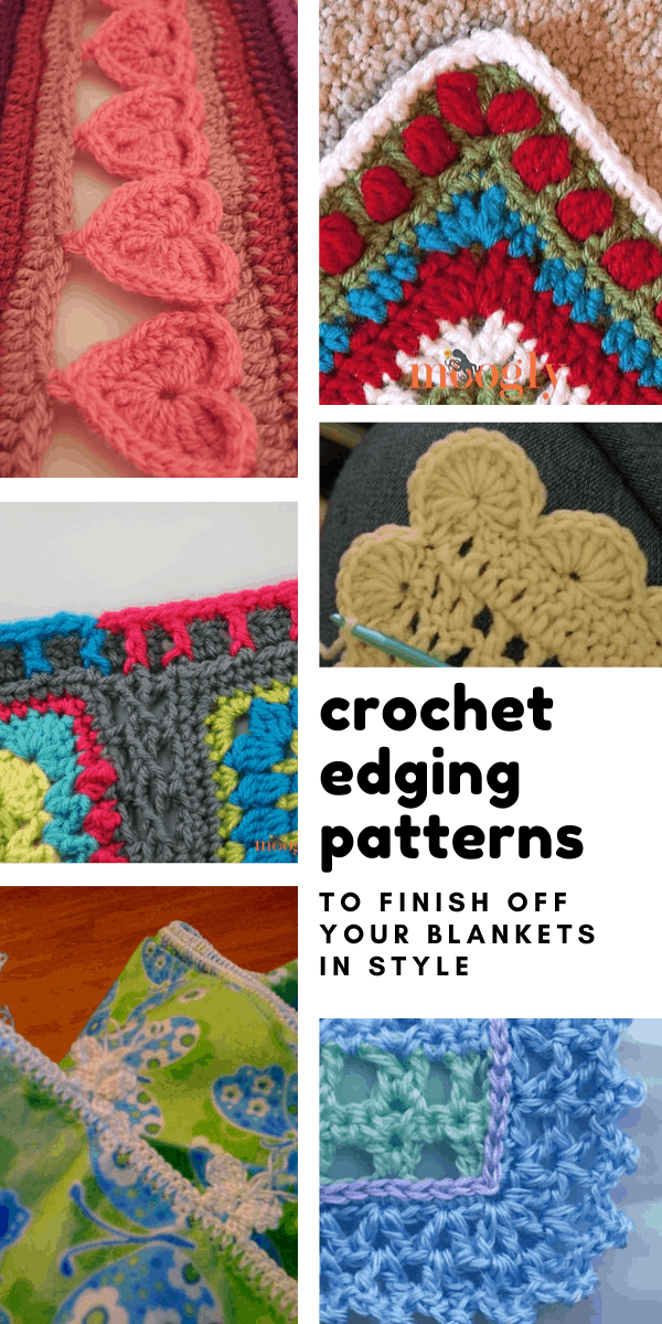 Loving these crochet edging patterns - so many fun ways to finish up a blanket