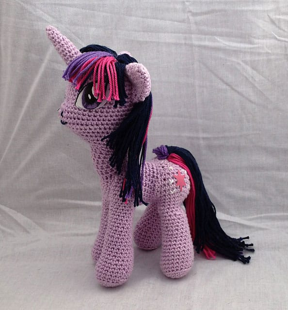 My Little Pony Unicorn Crochet Pattern