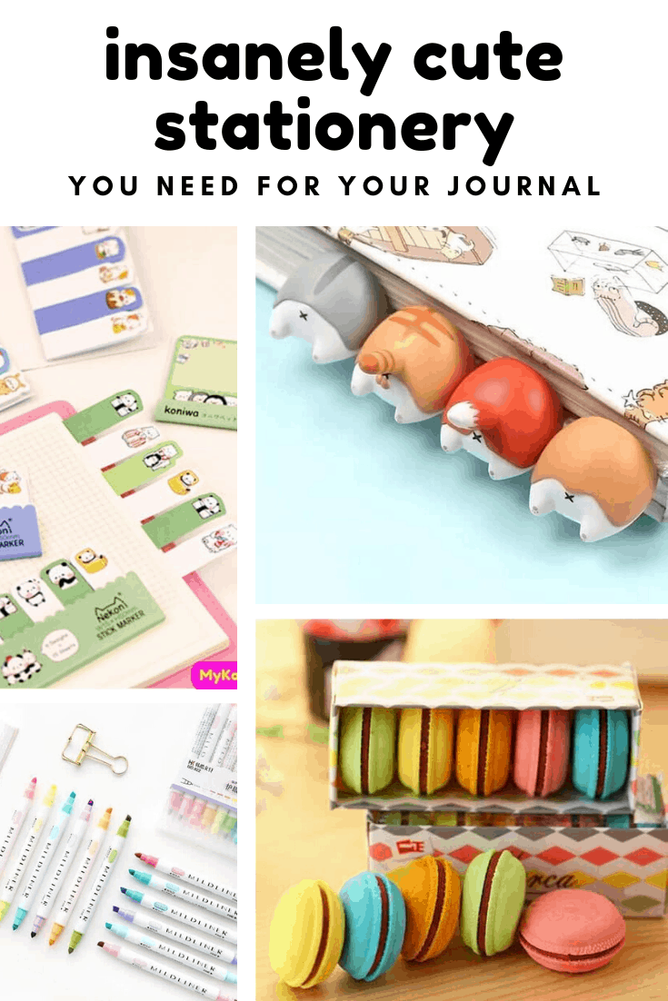 You totally need this cute stationery for your bullet journal!