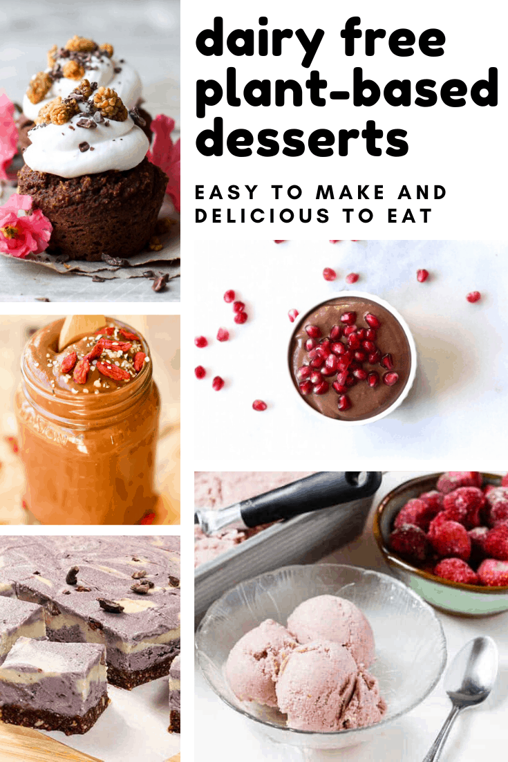 You don't have to miss out on treats - these dairy free plant-based desserts taste amazing!