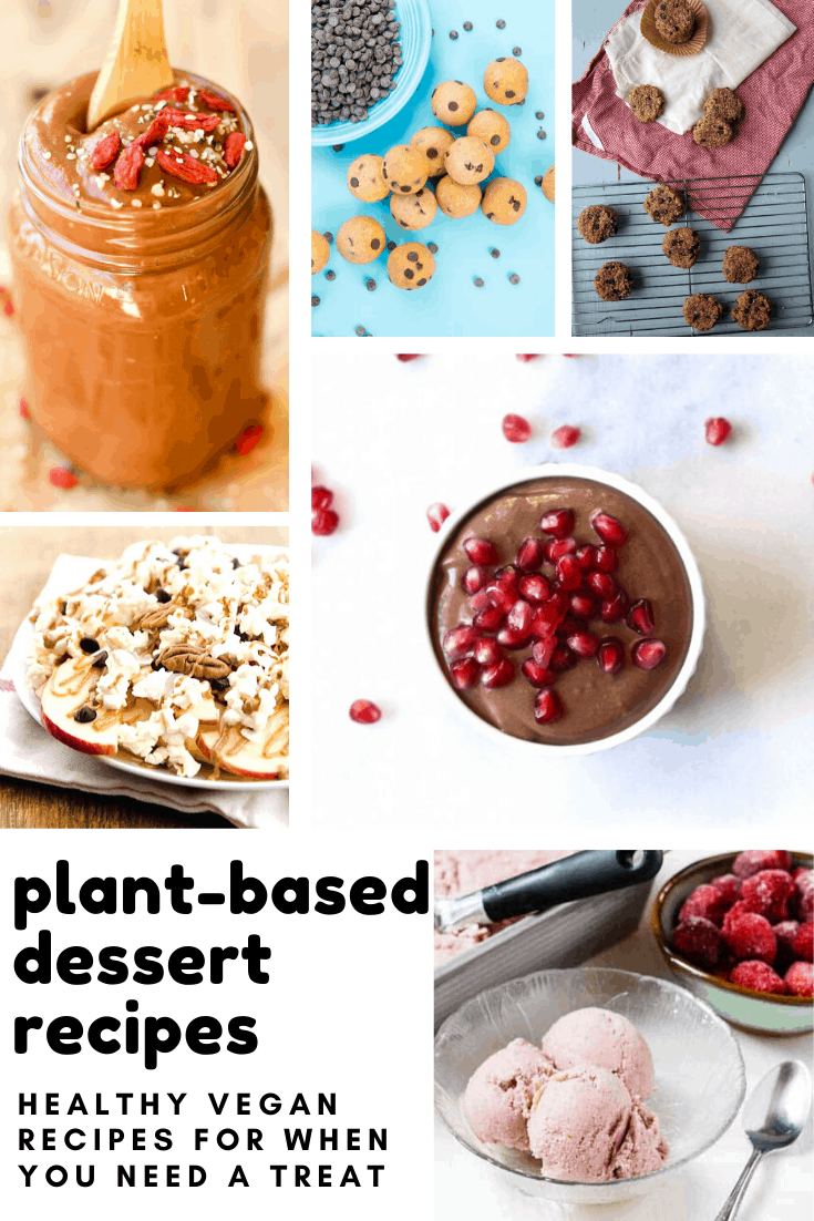 Who knew that dairy free vegan plant-based dessert recipes could taste so good!