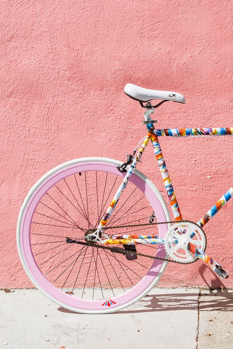 How to Decorate a Bike: Update your frame with this fabric hack