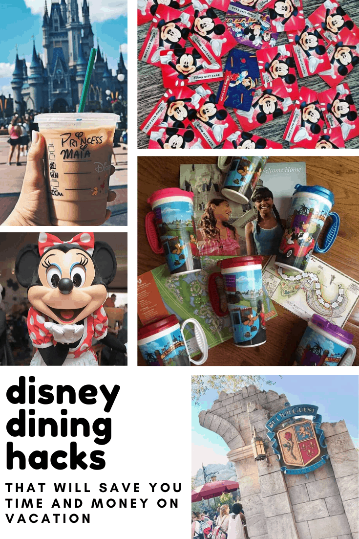 These Disney dining hacks are genius! So many easy ways to save time and money while eating at Disney World