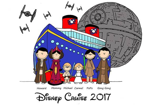 You can buy theDisney Cruise Star Wars Shirt here