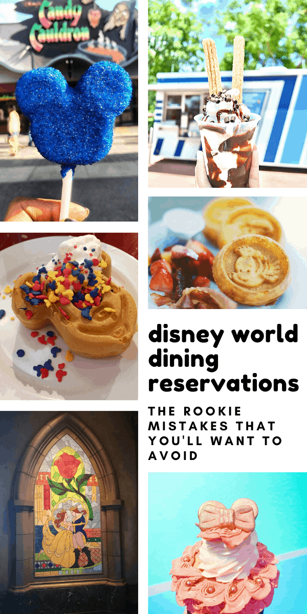 Don't miss the 101 on Disney World dining reservations so you don't go hungry during your vacation!
