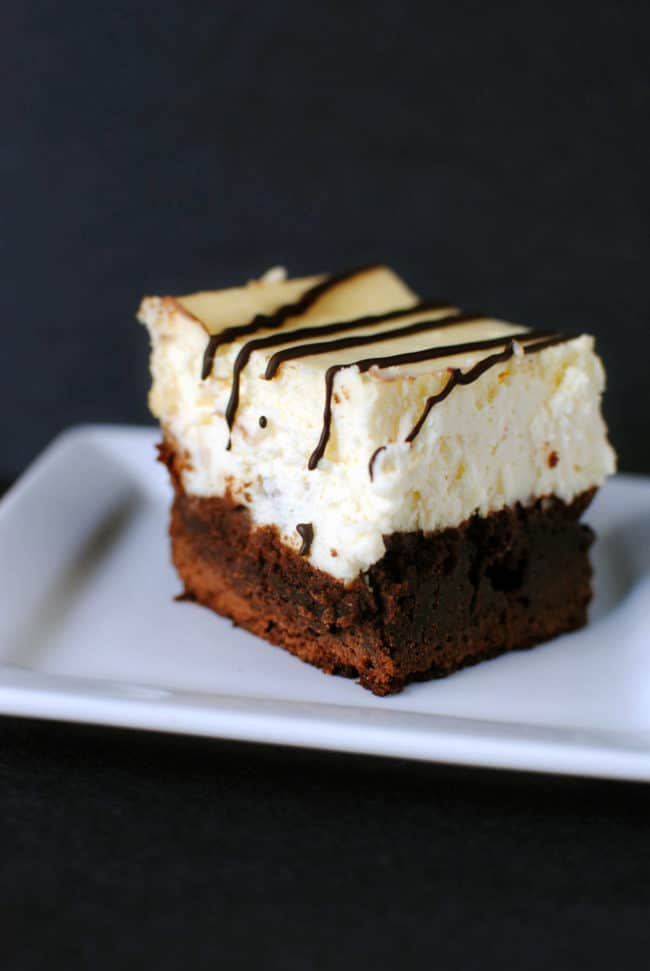 Boardwalk Bakery Brownie Cheesecake