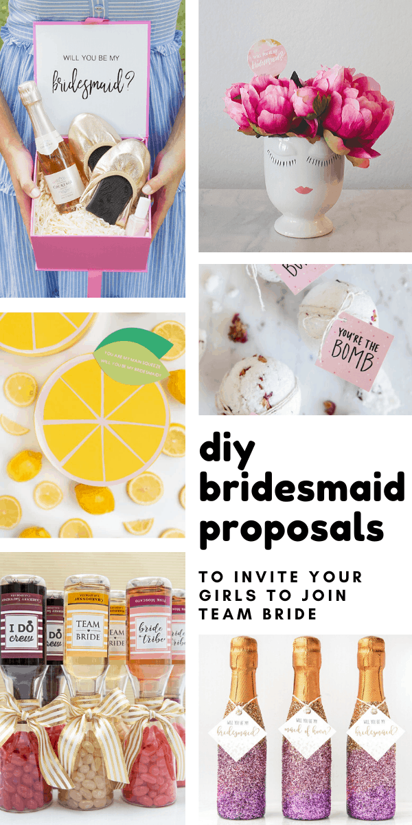 DIY Bridesmaid Proposal Ideas to Help You Pop the Question to Your Girls