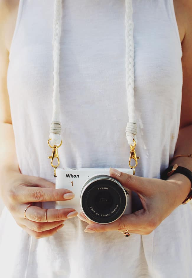 DIY Braided Camera Strap