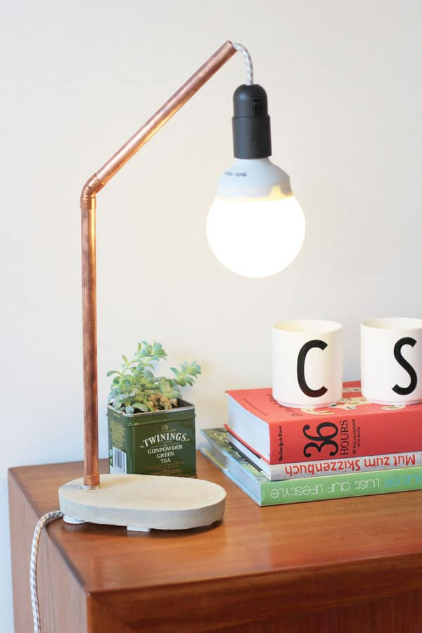 DIY Cement Lamp