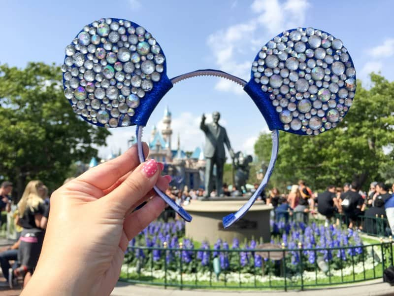 DIY Diamond Mickey Ears