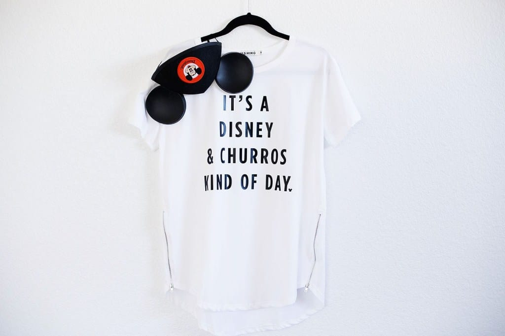 DIY Disney and Churros Tee