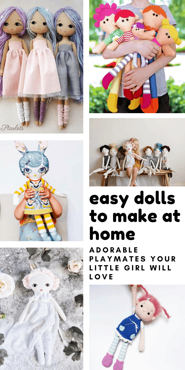Loving these diy doll patterns - so many cute playmates for little girls to love