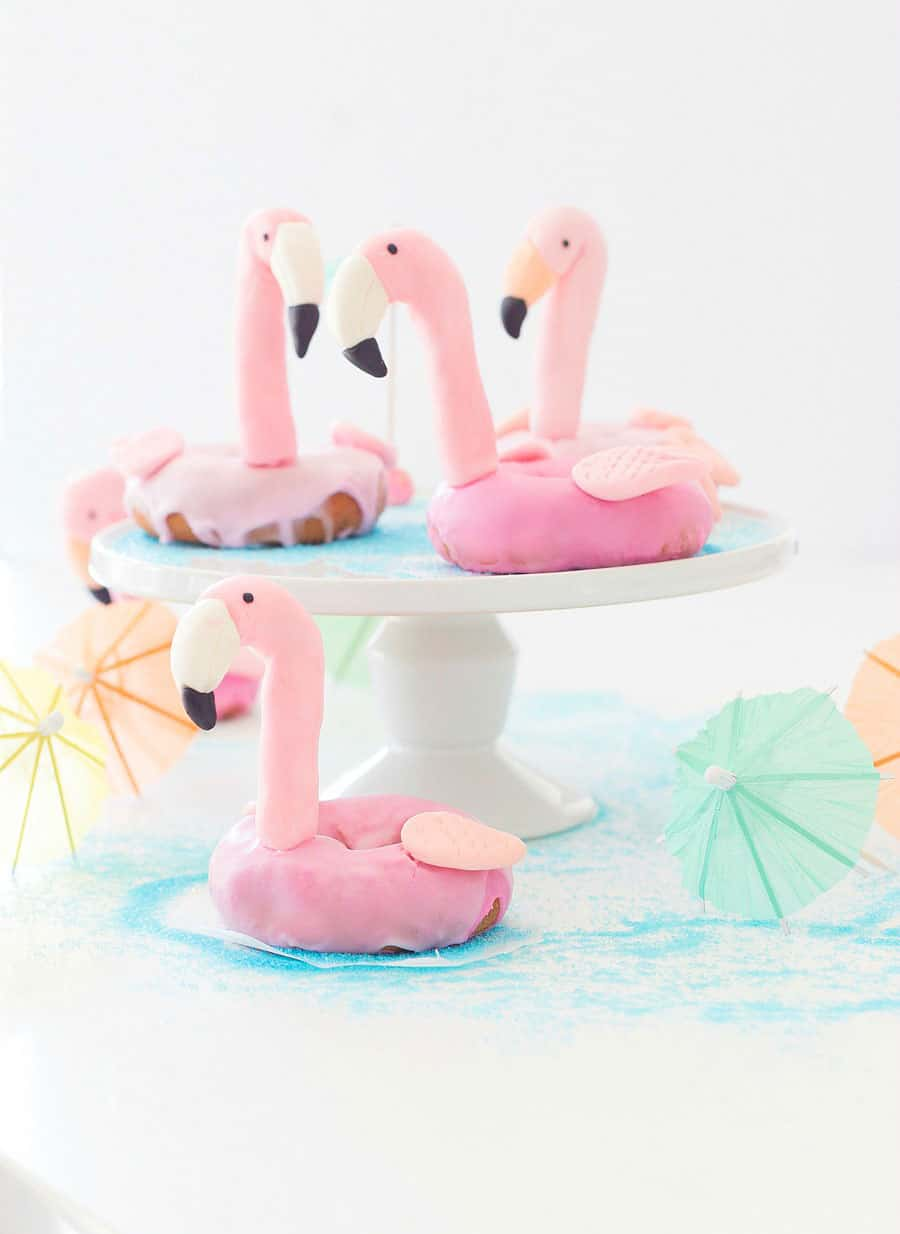 Flamingo Pool Float Donut