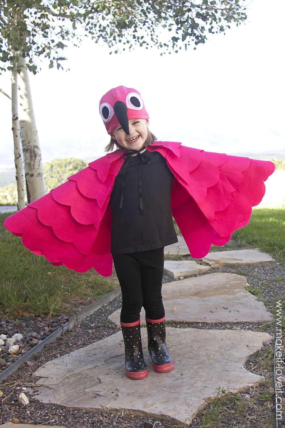 Simple Flamingo Costume