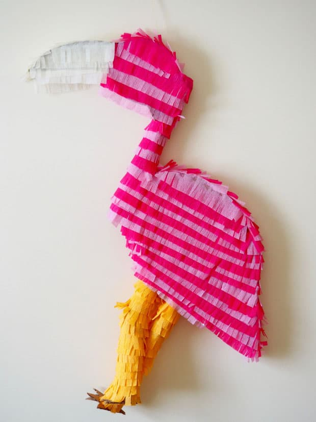 DIY Flamingo Pinata