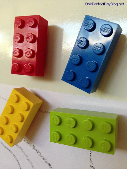 Lego Brick Refrigerator Magnets
