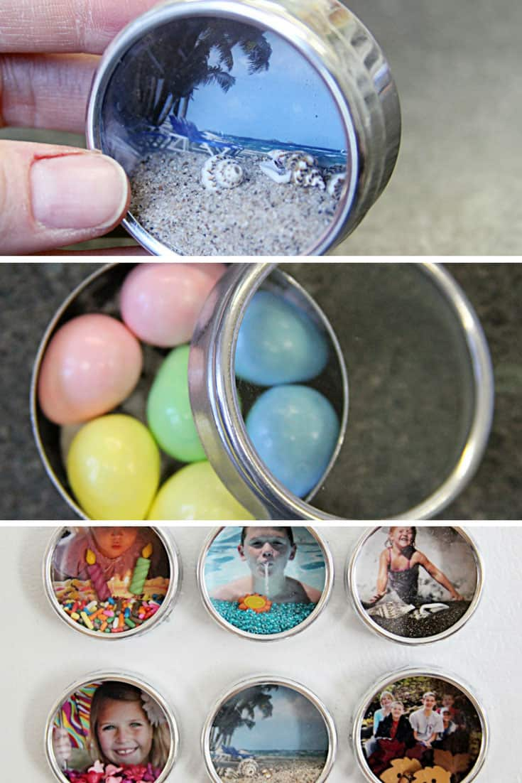 Mini Shadow Box Fridge Magnets