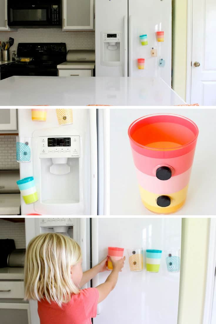 Fridge Magnet Cups