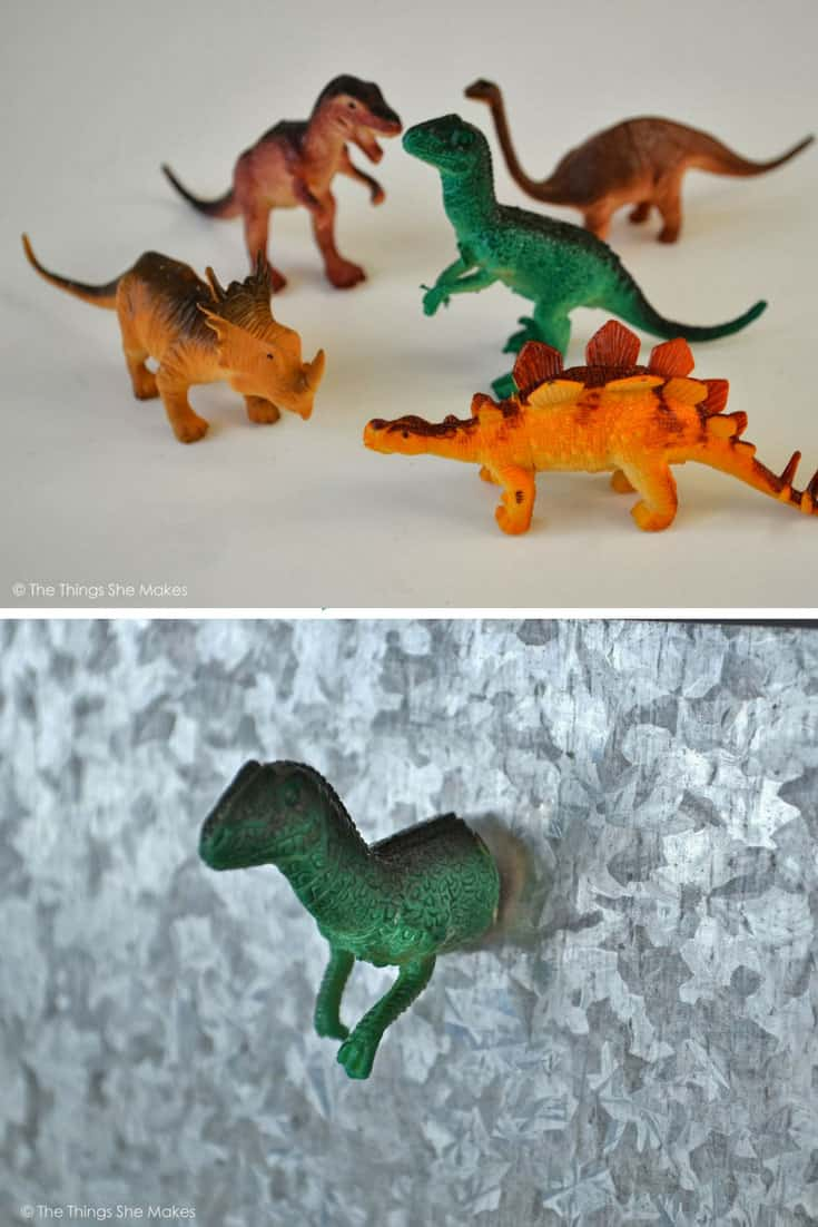 How to Make Dinosaur Magnets