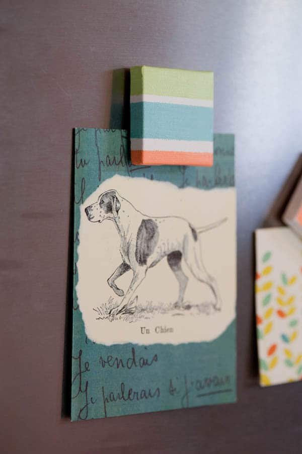 DIY Canvas Magnets