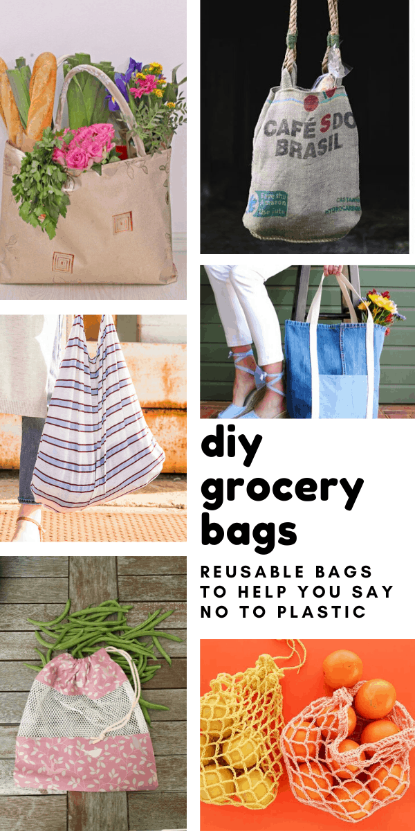 Loving these DIY grocery bags - they're eco friendly and sustainable