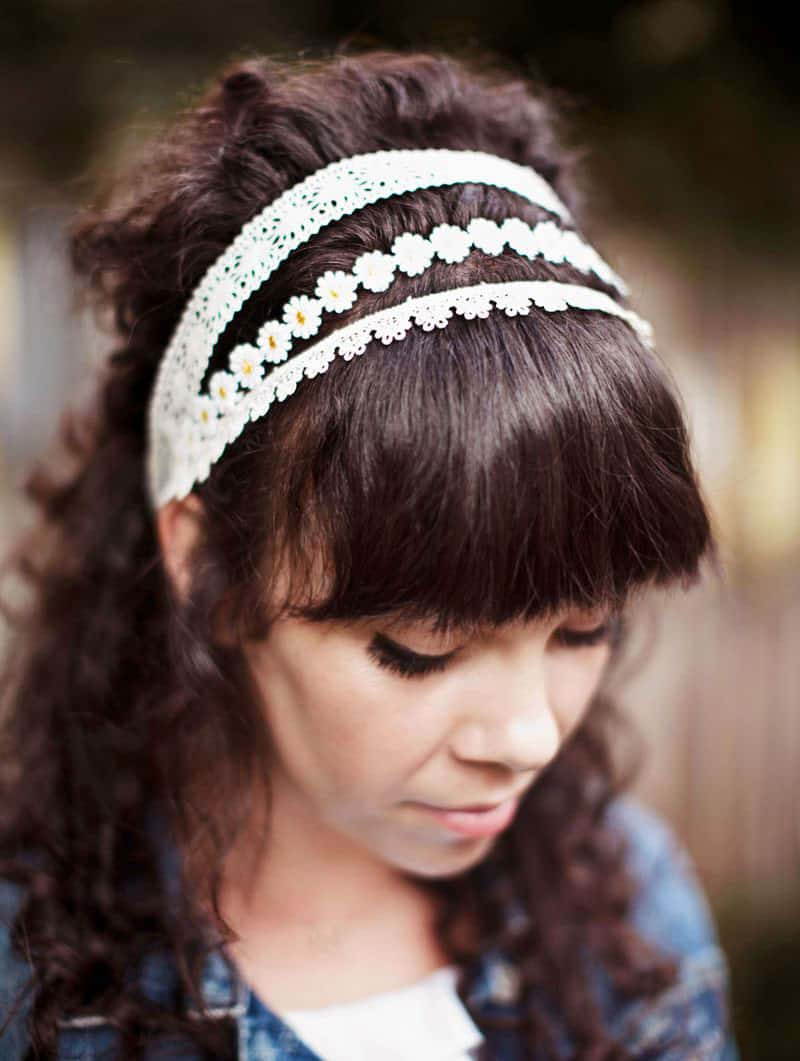 Lace Headband DIY