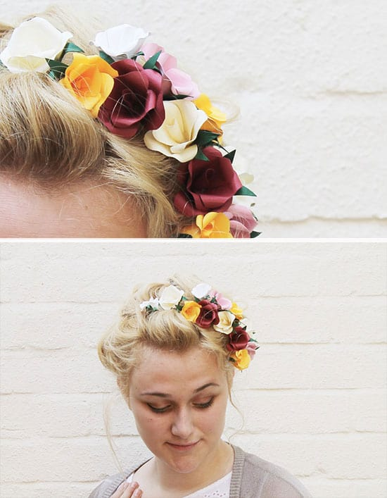 Paper Flower Accessory