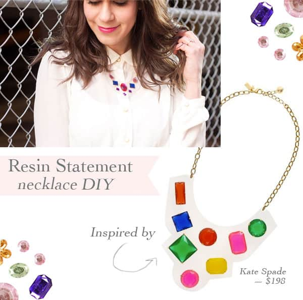 DIY Kate Spade Inspired Bob Necklace