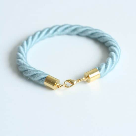 DIY: Kate Spade Inspired Rope Bracelet