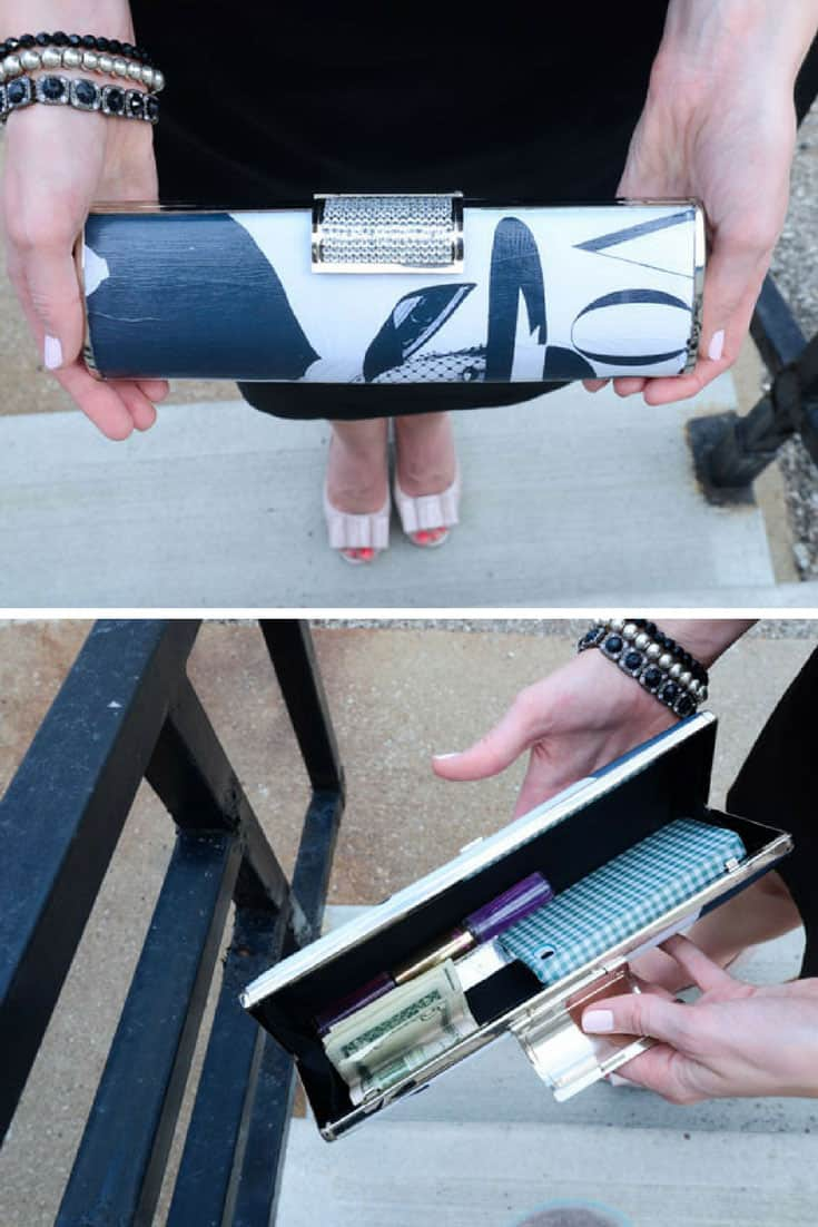 DIY: How to Make a Rolled-Magazine Clutch