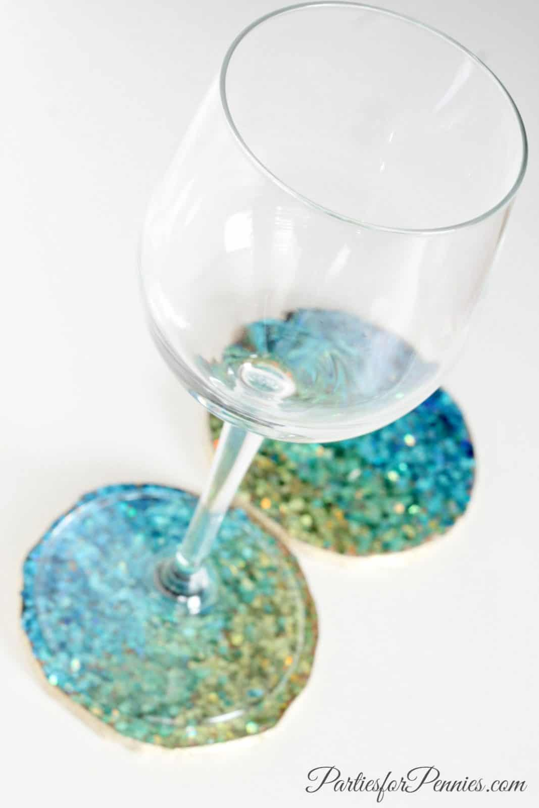 Kate Spade Inspired Coasters