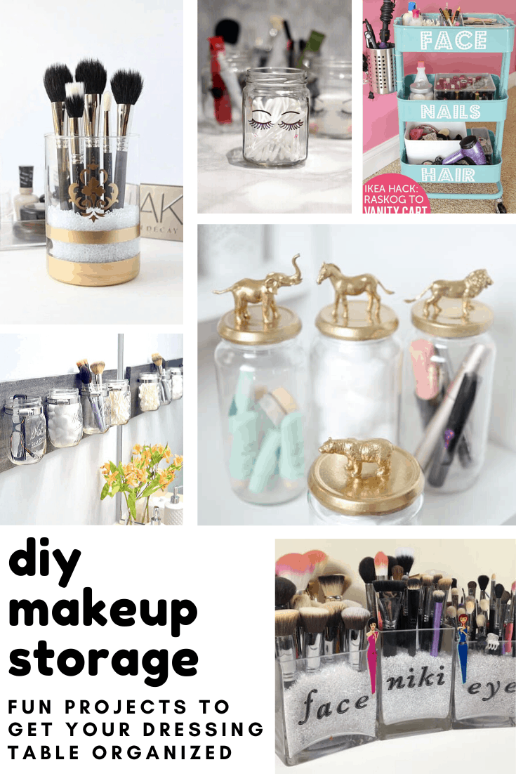 28 Brilliantly Easy Diy Makeup Storage Ideas You Need To Make Now