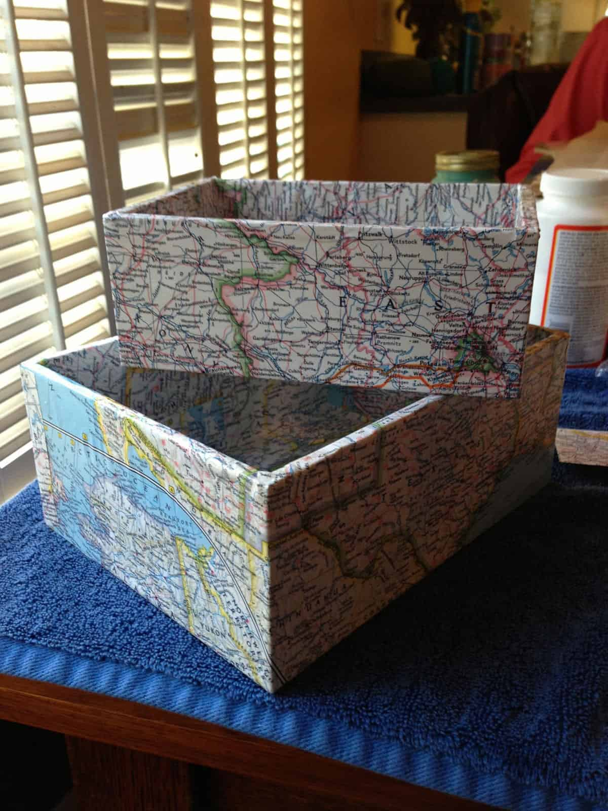 DIY Map Boxes