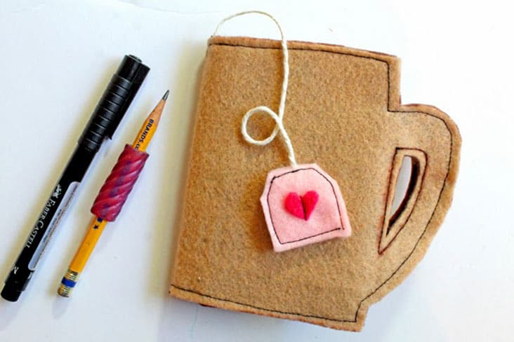 Tea Cup Journal DIY