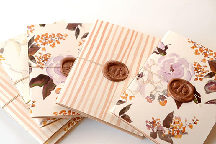 Handmade Patterned Notebooks