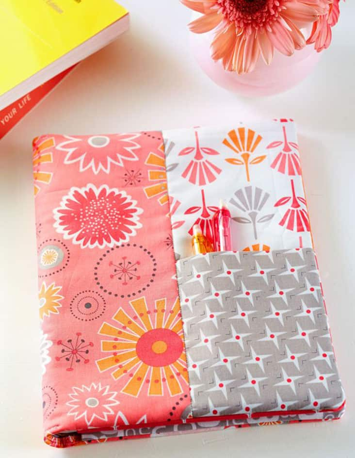 DIY Quilted Journal Cover