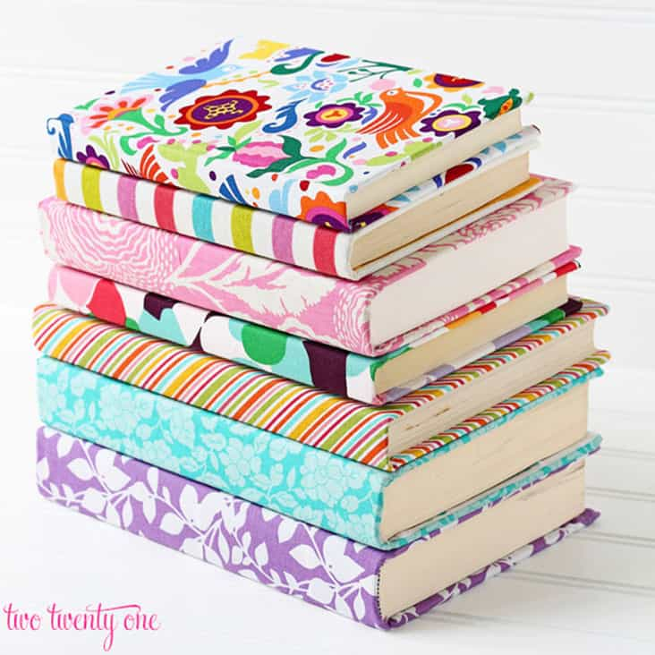 DIY Fabric Covered Journals