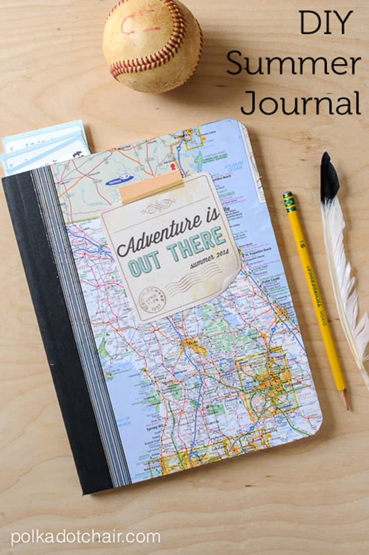 DIY Kid's Summer Journal