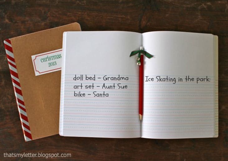 DIY Christmas Journal