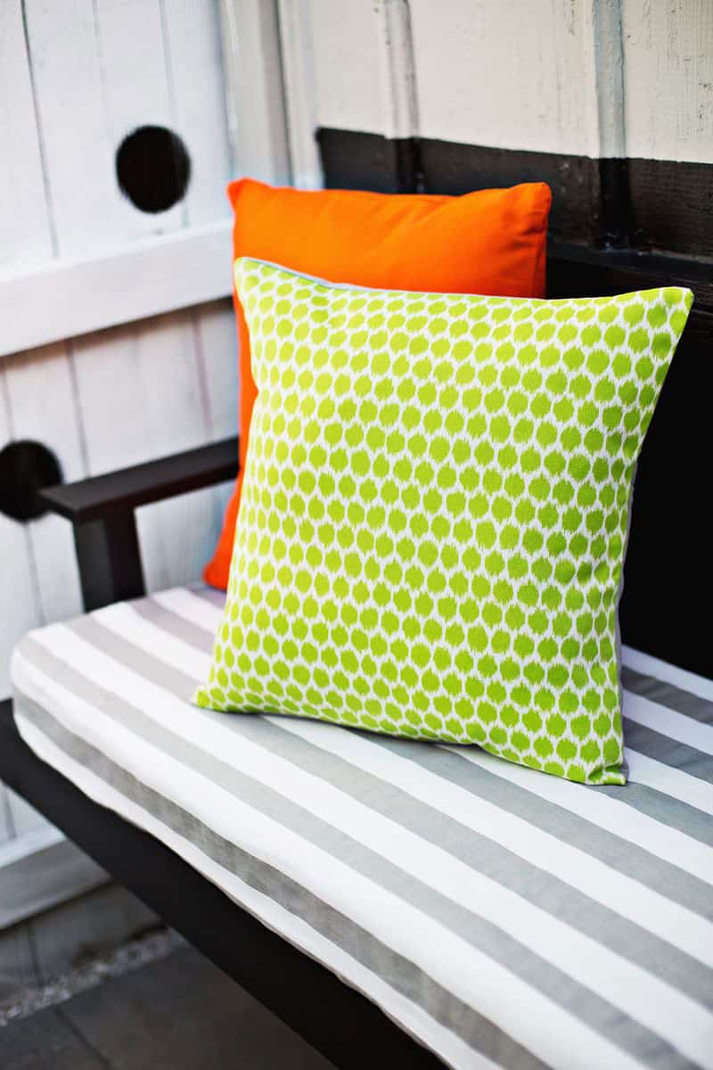 Three Ways to Make Outdoor Pillows