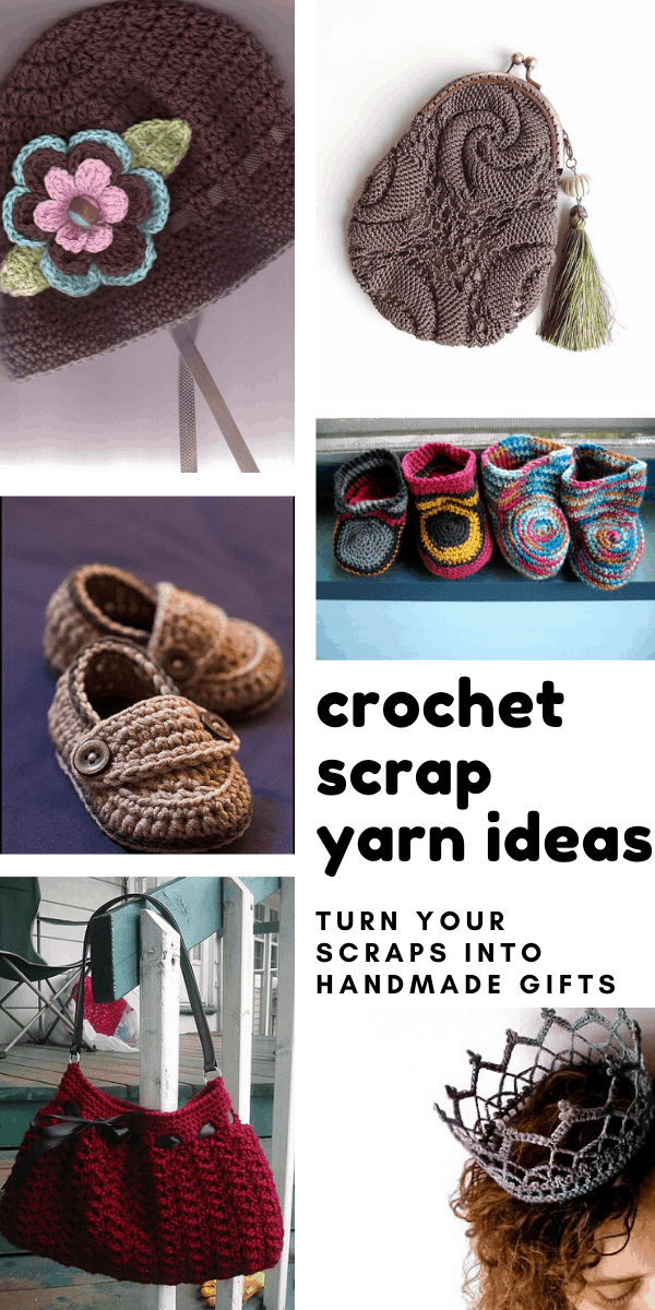 Scrap Yarn Projects {Quick gift ideas you can crochet with leftover yarn!}