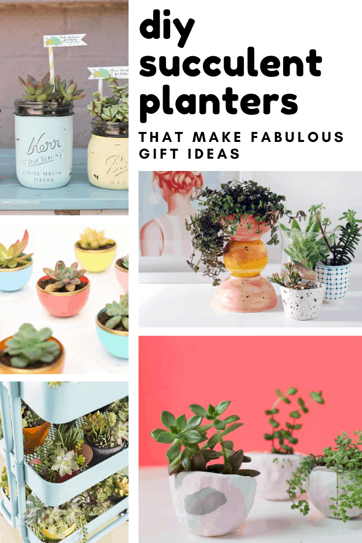 30 Gorgeous Diy Succulent Planters You Need To Make