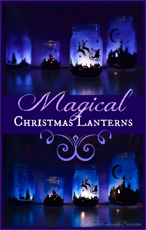 My kiddos are going to LOVE these magical Christmas lanterns!