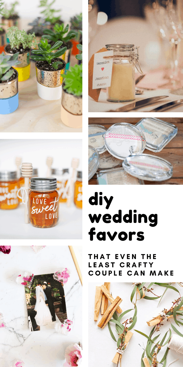 These DIY wedding party favors will be a huge hit with your guests and are a great way to save money