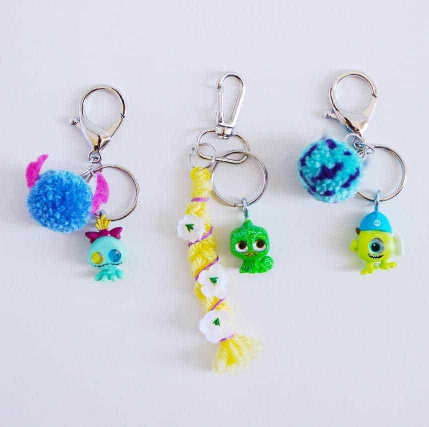 Disney Doorables Keychains